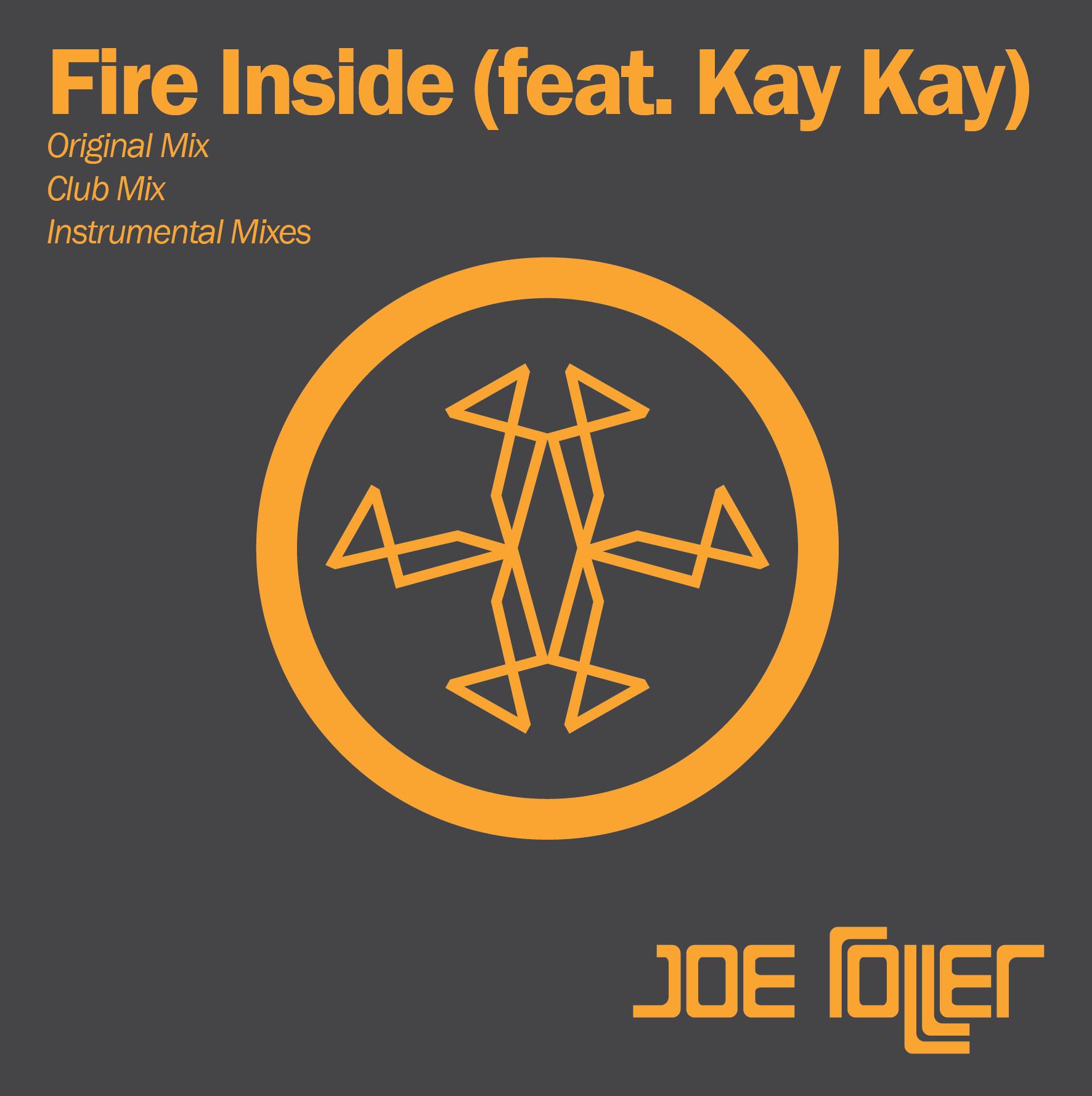 Joe Roller Fire Inside Cover Art